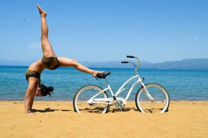Yoga Bike Beach